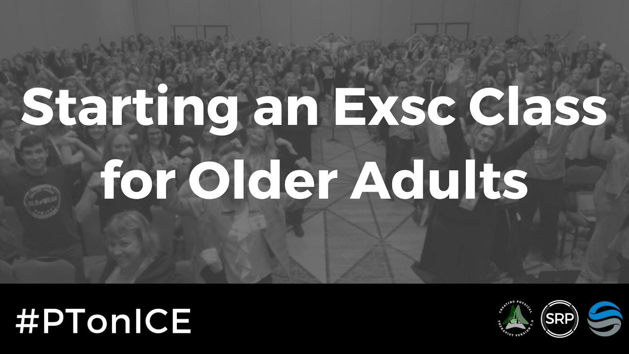Download #PTonICE Starting an Exercise class for the older adult!