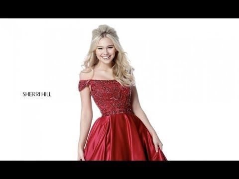 e76a5a4b766 Sherri Hill 51610 Prom Dress - YouTube