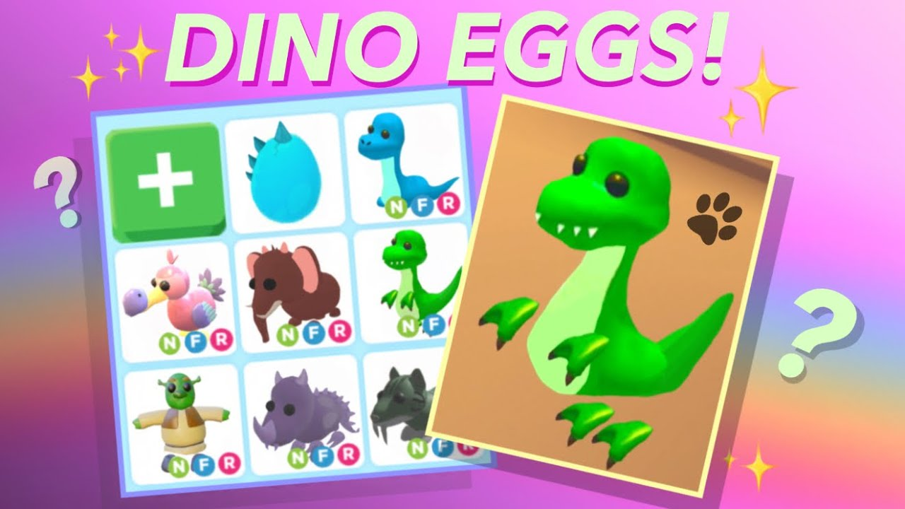 Adopt Me Dino Egg Access Youtube