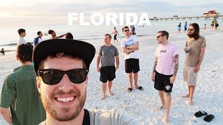 DAY OFF ON THE BEACH | DRUMMER ON TOUR VLOG