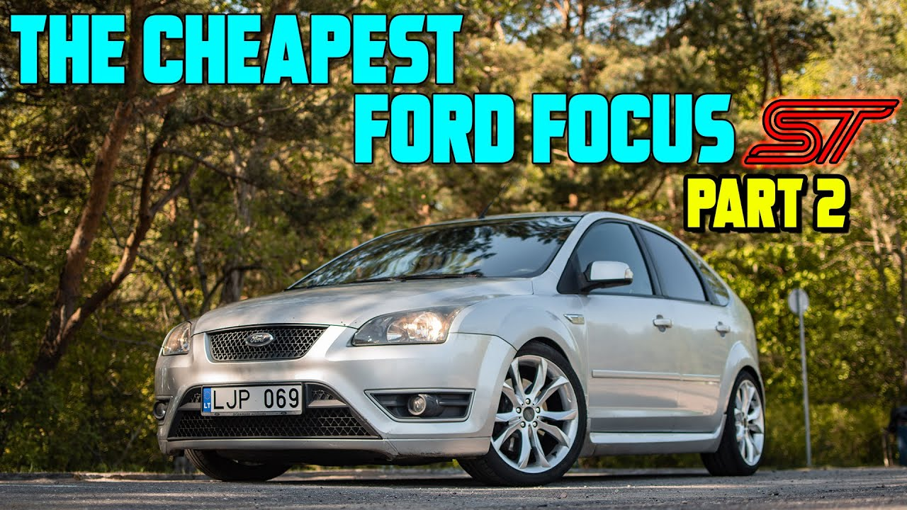 How much does it cost to restore the cheapest Ford Focus ST Mk2 in Europe? (Part 2)
