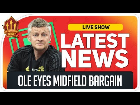 Solskjaer Targets Midfield Transfer Bargain? Man Utd News