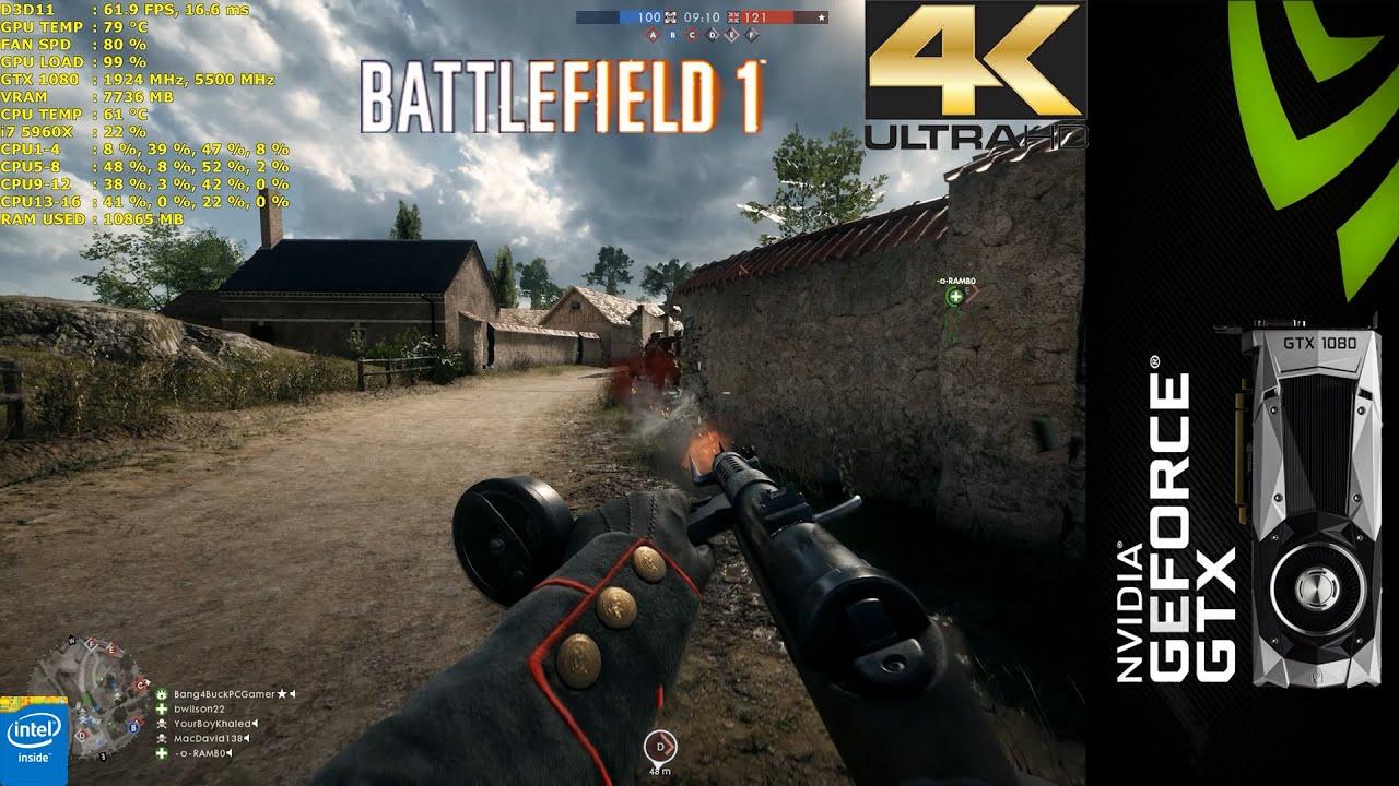 4K Wallpaper Battlefield
