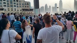 Arabic Music Dubai Fountain show 7.00 p.m. 27.07.2016