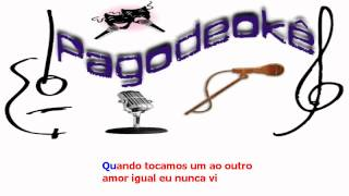 Não tem hora e nem lugar - Rodriguinho c/backing vocal (Karaokê)