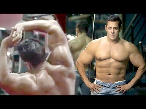 Salman Khan's Spectacular New Gym Body Building Workout Excercises Fr Dabangg 3 | He's Fitness Icon