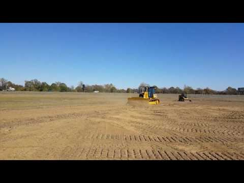 Cat D6K2 Guided by Trimble GPS @ Demo Day