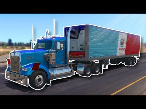 INTENSE MULTIPLAYER TRUCKING! - American Truck Simulator Multiplayer Gameplay! from YouTube · Duration:  21 minutes 39 seconds