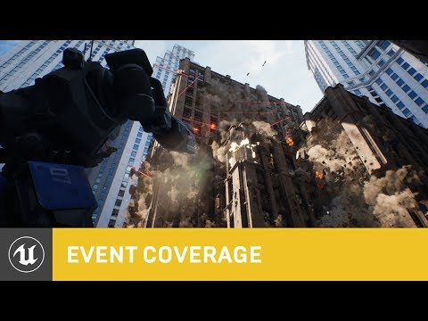 Chaos High-Performance Physics and Destruction System Real-Time Tech Demo   GDC 2019   Unreal Engine