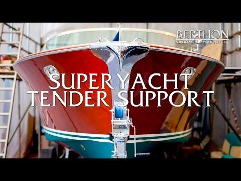 Berthon's Superyacht Tender Support Services