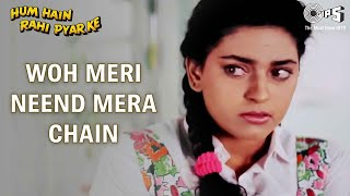 "Hey guys, check out this exclusive song ""woh meri neend mera chain"" from the movie ""hum hain rahi pyar ke"" stay updated with latest videos tips music, s..."