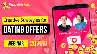 [Webinar Invitation] Creative Strategies For Dating Offers: Perfect Match Found!