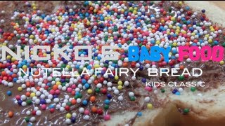 NUTELLA FAIRY BREAD - Kids Recipe Thumbnail