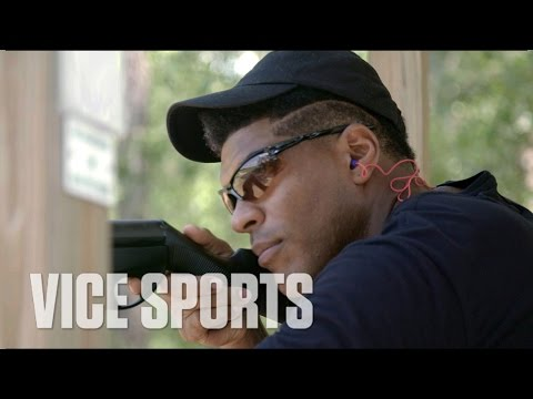 Julius Thomas Relaxes at the Shooting Range: Off Day