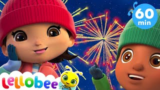 Colorful Firework Song +More Kids Christmas Nursery Rhymes   Little Baby Bum