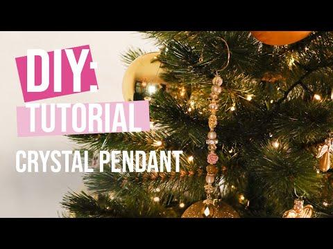 DIY Tutorial: Making crystal pendants