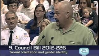 Craziest speeches of Springfield city council public forum on gay non-discrimination amendment