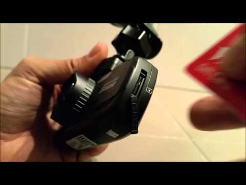 How To Insert SD Card Into The DOD LS460W Dash Camera?