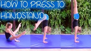 how to do a press to handstand