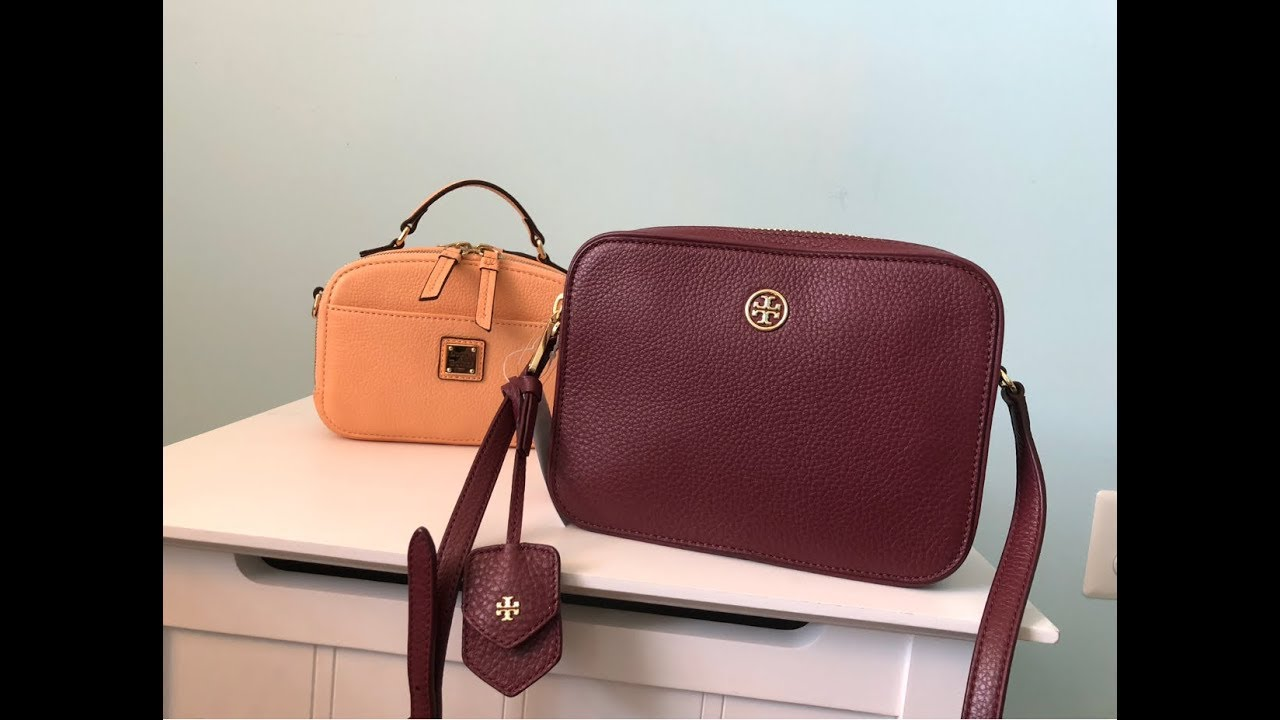 dd9effbfd851 REVIEW  Tory Burch Robinson Double Zip Crossbody vs D B Ambler - YouTube