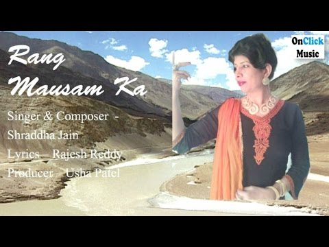 shraddha-jain---rang-mausam-ka-|-ghazal-|-latest-single