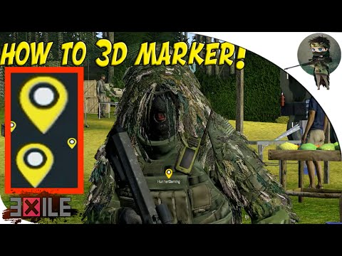 how to put out markers in arma3 map
