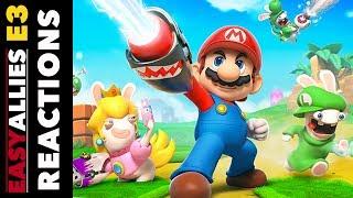 Mario + Rabbids Kingdom Battle - Easy Allies Reactions - E3 2017