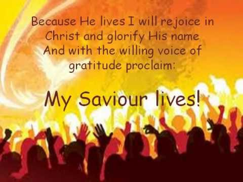 Because HE LIVES & Lyrics