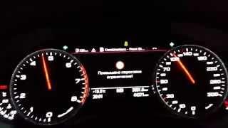 за рулем audi a6 c7 3 0 tfsi acceleration 0 100 esp off no launch control 95 lukoil pump gas