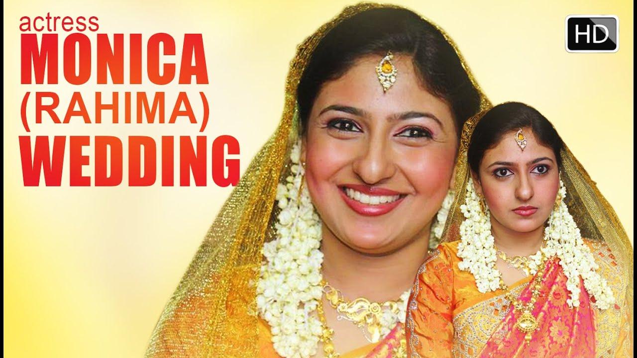 Tamil Film Actress RAHIMA Monicas Wedding