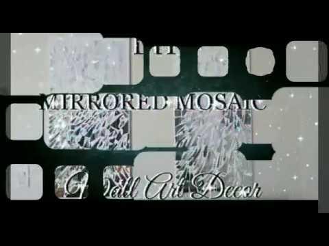 How to Make a DIY Mirrored Mosaic Art