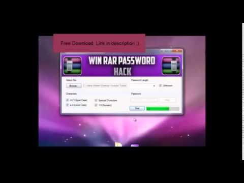 rar password cracker crack download