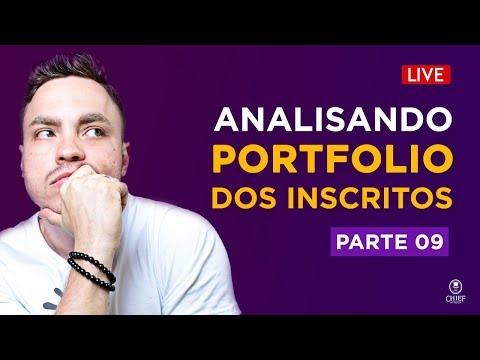 Analisando Portfolios Dos Inscritos - Ao VIVO #09 🔴
