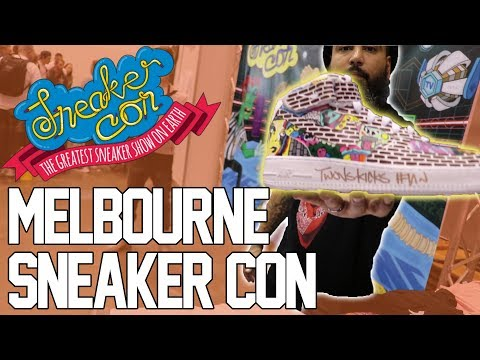 Sneaker Con Melbourne (Shoe Butter takes over the channel)!