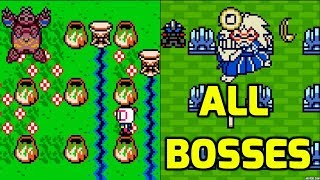 Bomberman Max (GBC) - All Bosses (Both Characters)