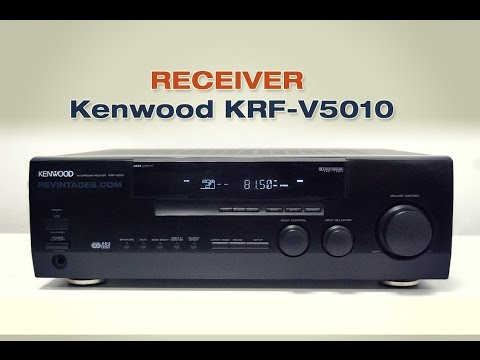 Kenwood Receiver Sound Check - YouTube