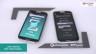 Qualcomm WiPower: Wireless charging for metal devices
