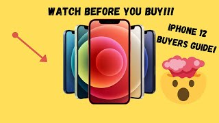 IPHONE 12 BUYER'S GUÏDE | Do Not Make A Mistake! Watch Before You Buy (2020)