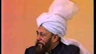 Friday Sermon 4 January 1991