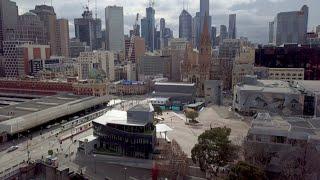 Melbourne's quiet mood