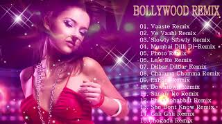 BOLLYWOOD HINDI REMIX ☼ NONSTOP DANCE PARTY DJ MIX ☼ BEST REMIXES OF BOLLYWOOD SONG 2019
