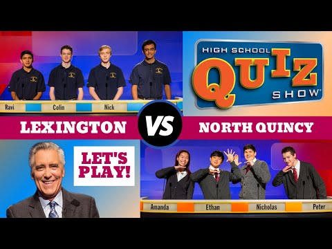 High School Quiz Show - Season 8 Premiere: Lexington vs. North Quincy (801)