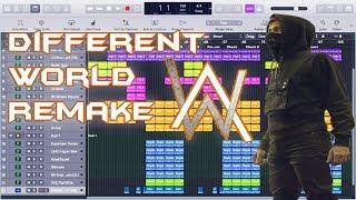 Alan Walker - Different World Instrumental Remake (feat. Sofia Carson, K-391 & CORSAK)