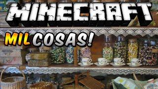 Minecraft - Mil Cosas MOD (Todo lo que quieras en un mod!) - ESPAÑOL TUTORIAL