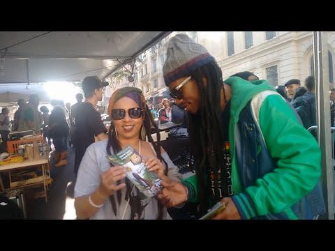 Revista Reggae Brasil na Cobertura do Forum do Reggae