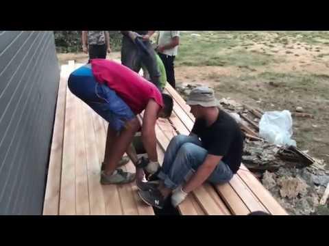 Как сделать деревянный пол веранды из доски на лаги. Каркасный дом самостоятельно своими руками