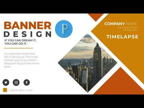 MAKE PROFESSIONAL BANNER DESIGN IN PIXELLAB ON ANDROID | TIMELAPSE  | #android #pixellab #AW