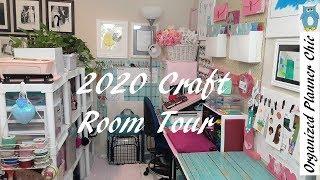 2020 Craft Room Tour   Studio Tour   Office Tour