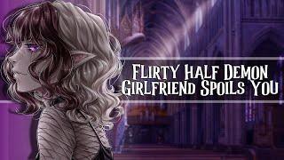 Flirty Half Demon Girlfriend Spoils You //F4A//