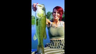 Bass Fishing with Lil Miss Fancy Pants pt 3